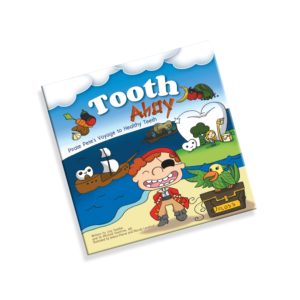 Tooth Ahoy! Soft Cover Childrens' Book Cover